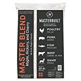 Masterbuilt MB20092718 Maple, Hickory, and Cherry Master Blend BBQ Grill and Smoker Wood Pellets, 20 Pound Bag