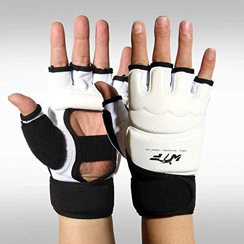 JF-XUAN. Boxhandschuhe Sanda Handtitten Erwachsene Kinder kämpfen halb Finger Boxen Sandsäcke Handhandschuhe Taekwondo Handschuhe Boxen Hälfte Finger Handschuhe