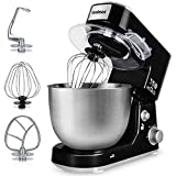 Stand Mixer, Cusimax 800W Dough Mixer Tilt-Head Electric Mixer with 5-Quart...