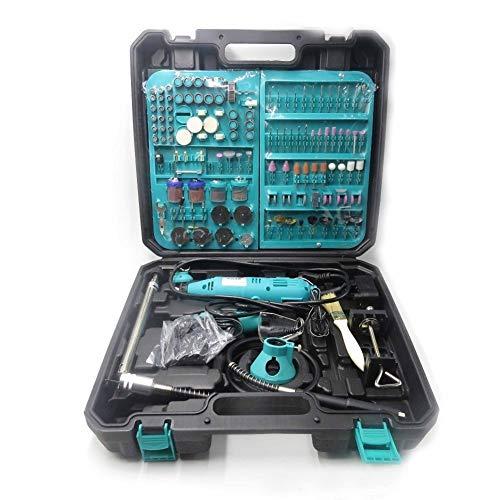 LHFSM 2 PC DIY Gravieren Bohren Dremel Art elektrische Bohrmaschine New Pen Grinder Mini Rotary Electric Tool Mini-Mühle 180w 350-I Drill