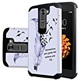 LG Tribute 5 Case, LG Escape 3 Case, LG K7 Case,Harryshell(TM) Shock Absorption Drop Protection Hybrid Dual Layer Armor Defender Protective Case Cover for LG K7 K8 Tribute 5 Escape 3 (B-3)