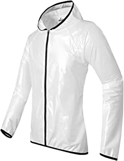 Outdoor Waterproof Clothing Suit, Waterproof Clothes for Men Motorbike Bike Work Golf Rainwear Jacket & Trouser Suit Light...