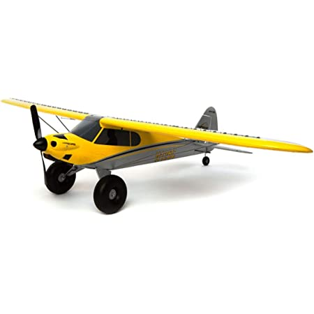 HobbyZone RC Airplane Carbon Cub S 2 1.3m Ready-to-Fly (Transmitter, Battery and Charger Included), with Safe,HBZ32000, Yellow, Multi