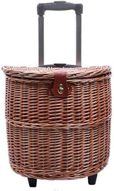 GANN Handmade Teng Liu Woven Cutlery Basket with Portable Long Beach Mall Ranking TOP10 Picnic