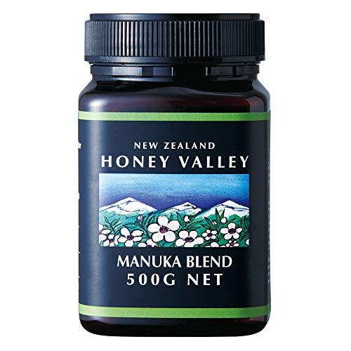 ハニーバレー(Honey Valley) マヌカブレンドハニー 500g 1瓶【ニュージランド おみやげ(お土産) 輸入食品 】「蜂蜜」