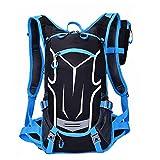 SUKUTU Bike Backpack 18L Waterproof Bicycle Cycling Rucksack Breathable Lightweight Biking Daypack Sport