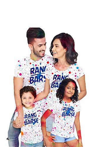 Bon Organik Rang Barse Holi Tshirts Family