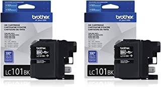 Brother LC-101BK Ink Cartridge Black , 2-Pack in retail packing