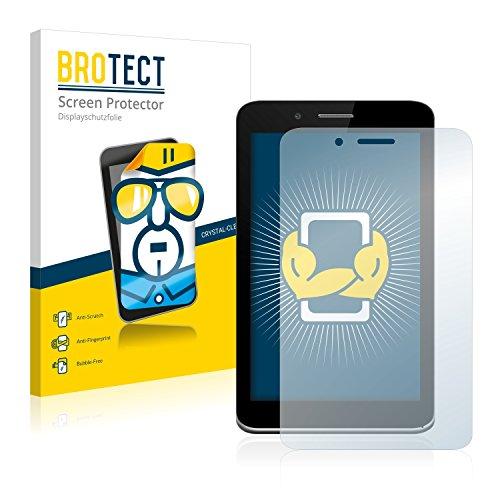 BROTECT Schutzfolie kompatibel mit Allview Viva H7 Xtreme (2 Stück) klare Bildschirmschutz-Folie