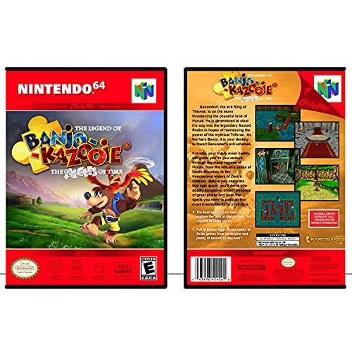 Banjo-Kazooie Jiggies of Time | N64 - Game Case Only