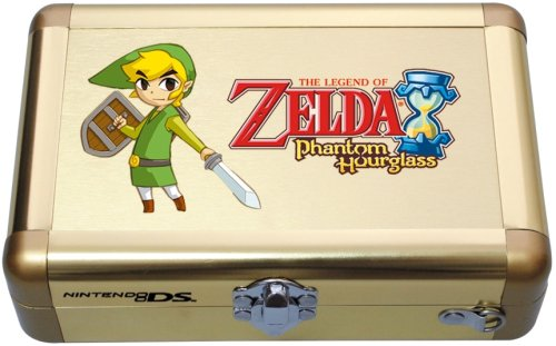 Bigben Interactive Aluminium Case - Zelda Phantom Hourglass - accesorios de juegos de pc (Oro, 245 mm, 155 mm, 62 mm, 378 g, Aluminio)