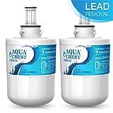 AQUACREST Fridge Water Filter, Compatible with Samsung Aqua Pure Plus DA29-00003G, DA29-00003F, DA29-00003B