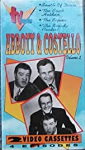 2 Volume Set - 4 Episodes of Abbott & Costello TV Show