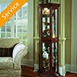 Curio Cabinet Assembly