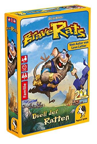 Pegasus Spiele 18289G - Brave Rats, Das Duell der Ratten