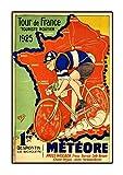 Tour de France 1925 Poster, Vintage, Foto, Fahrrad, Mode,