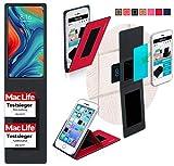 Hülle für Xiaomi Mi Mix 3 5G Tasche Cover Hülle Bumper | Rot | Testsieger