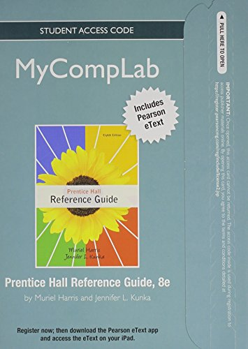 NEW MyCompLab with Pearson eText -- Standalone Access Card -- for Prentice Hall Reference Guide (8th Edition)