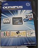 Olympus Type M 2GB xD-Picture Card - Tarjeta de Memoria (2 GB, xD-Picture Card (xD), Negro)