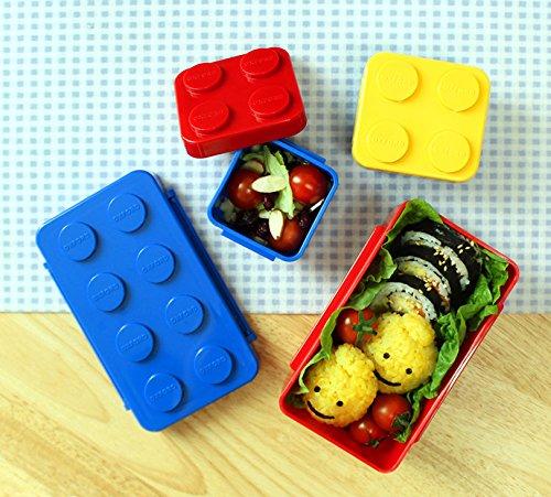 レゴブロックにはまっているお子さんへのプレゼントにもおすすめ。密閉性も高いので液漏れする心配もありません。