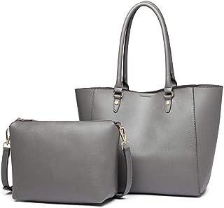 مس لولو حقيبة للنساء-رمادي - حقائب كبيرة توتس