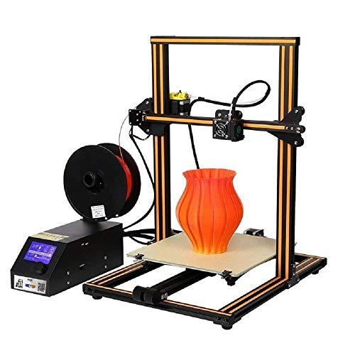 WUAZ Imprimante 3D, Imprimante 3D Mise À Niveau Automatique De Haute Précision d'impression 4 Etape Installation avec Impression Taille 300 * 300 * 400MM