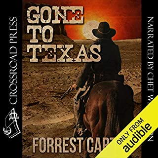 Gone to Texas - A Josey Wales Western audiobook cover art