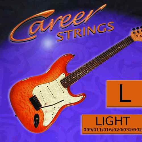 Career Strinx E-Gitarre Light 009-042 Nickel Plated Steel