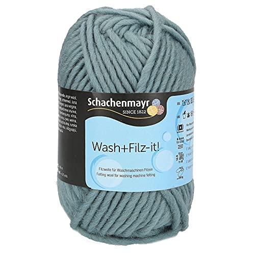 Schachenmayr since 1822 Hilo de fieltro 9812942-00046, 100% lana virgen, color azul, talla única