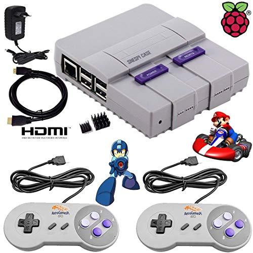 Mini Super Nintendo Clássico 9000 jogos 2Controles Snes NF
