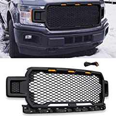 ★Be Careful: If your truck has a front CAMERA, our grill will NOT fit. ★Features: Made of high quality ABS Plastic, Black body, Great Design Gives your vehicle a new style and appearance. Directly Replace OEM Components. ★Installation: Easy to instal...