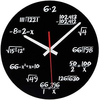 Mathematik Wanduhr, Neuheit Timelike Einzigartige Wanduhr Ma