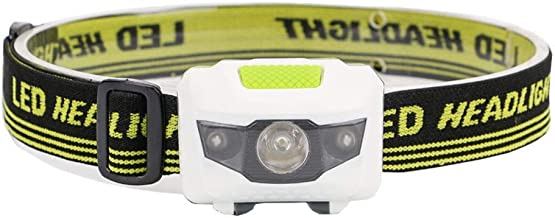 Hoofdlamp Mini Head Lamp 4 modi waterdichte LED zaklamp heldere koplamp zaklamp Lanterna met hoofdband gebruiken