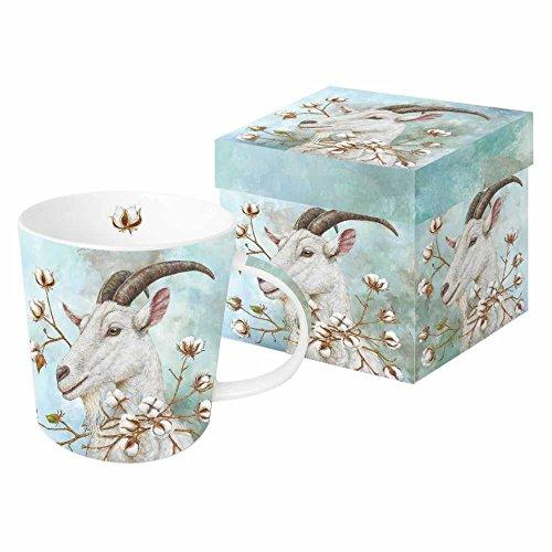 PPD Cotton King Kaffeebecher, Kaffeetasse, Tasse, Kaffee Becher, New Bone China, Mehrfarbig, 350 ml, 603105