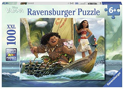Ravensburger 10943 - Puzzle Vaiana y Maui 100 piezas , Modelos/colores Surtidos, 1 Unidad