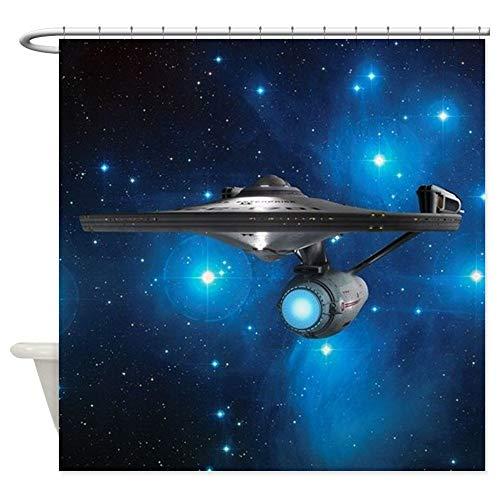 "Dongingp StarTrek 1701A Pleiades Decorative Fabric Shower Curtain (69""x70"")"