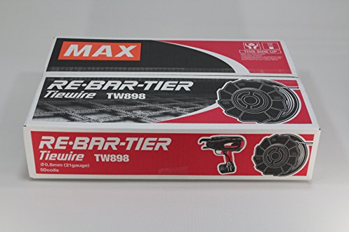 Preisvergleich Produktbild MAX Bindedrahtrolle Typ TW 898 - blank - Preis für VE 50 Stk.