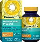 Renew Life Adult Probiotic - Ultimate Flora Ultimate Care Probiotic Supplement -...