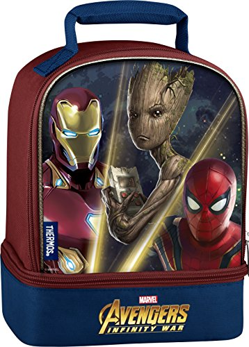''Thermos LICENSED Dual Lunch Kit, Avengers Infinity War Movie''