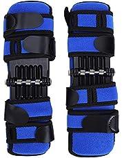 HERCHR 1 par de Almohadillas estabilizadoras de Rodilla, Abrazadera para articulaciones de muelles de Rebote, Abrazadera de Soporte de Rodilla, Equipo de Refuerzo de Rodilla Protector