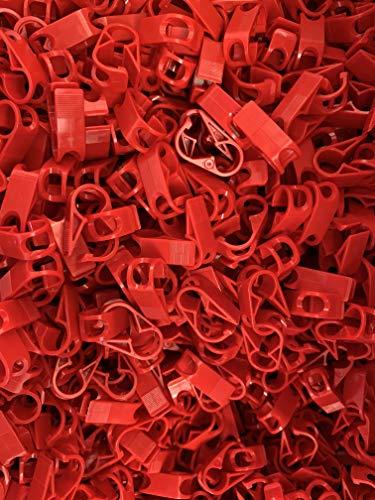 Kunststoff Schlauchklemme Für Schlauch bis zu 6mm Außen-Ø (100)