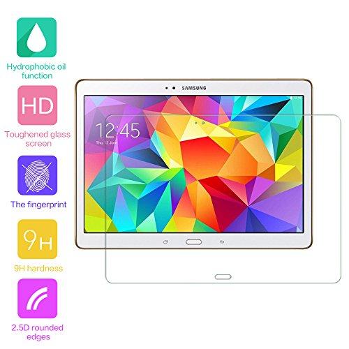 fenrad® 9H Hartglas Panzerglas Glas Folie Schutzfolie Schutzglas Panzerfolie Bildschirmschutzfolie Bildschirmschutz für Samsung Galaxy Tab S 10.5 T800
