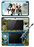 Bravely Default Game Skin for Nintendo 3DS Console