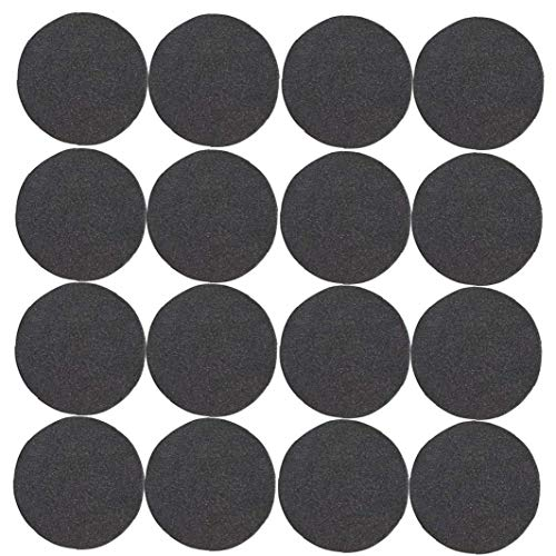 Flower Pot Mat Plant Feet Riser Pad Round Invisible Natural Rubber Flowerpot with Adhesive 24PCS