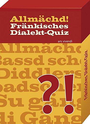 Ars Vivendi 4250364113243 - Allmächd - Fränkische Dialekt-Quiz