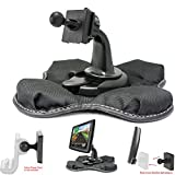 ChargerCity Portable Dashboard GPS Friction Mount for Tomtom VIA 1415 1435 1505 1515 1535 1605 1625 M TM T GO 40 50 51 52 60 61 62 500 520 600 620 5000 6000 Live EASYPORT GPS