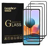ivoler 3 Stück Panzerglas Schutzfolie für Xiaomi Redmi