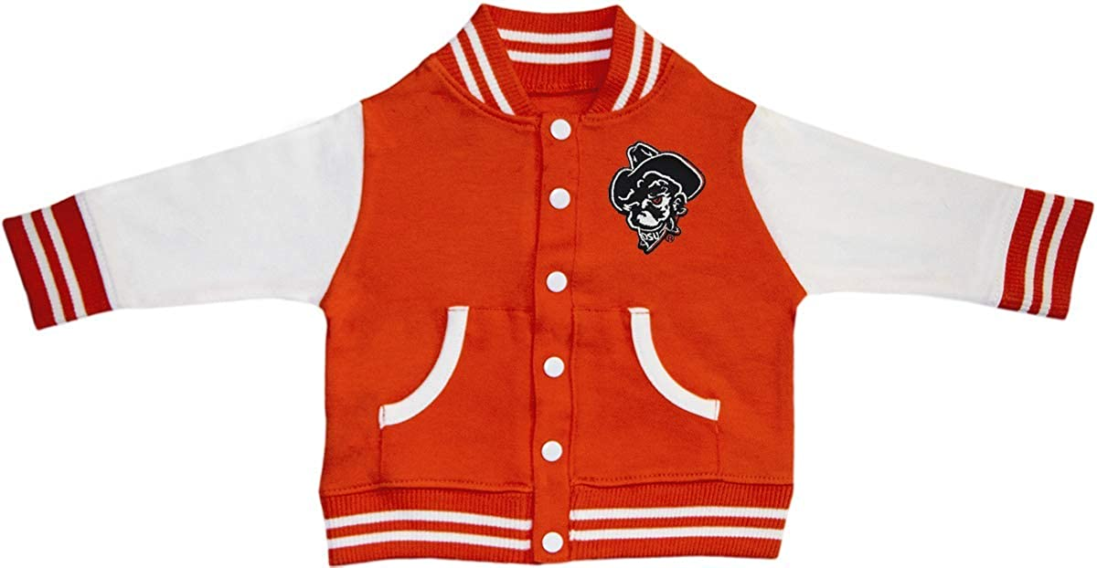 Oklahoma Kansas City Fixed price for sale Mall State University Phantom OSU Varsity Pete Jacket