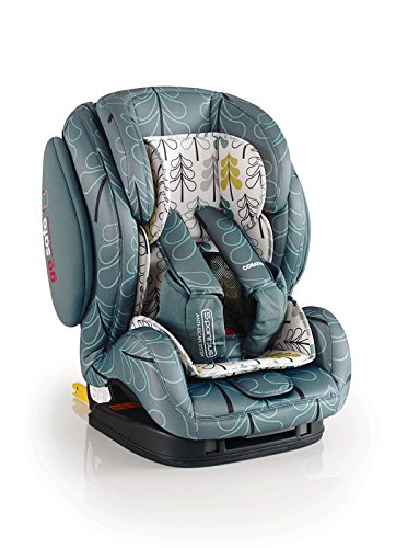 Cosatto Hug Car Seat | Group 1 2 3, 9-36 kg, 9 Months-12 years, ISOFIX, Side Impact Protection, Forward Facing (Fjord)