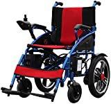 XXY.XXY Wheelchair Electric Wheelchair - Electric Wheelchair Smart Disabled Elderly Scooter Foldable Semi-Automatic
